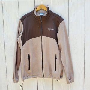 Columbia men's jacket fleece